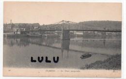DEPT 76 : Elbeuf , Le Pont Suspendu - Elbeuf