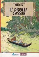 TINTIN : L´Oreille Cassée - Histoire En 4 Livrets - Libre Belgique - 2002 - Livres, BD, Revues