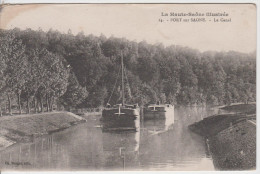 70 - PORT SUR SAONE / PENICHES SUR LE CANAL - Francia