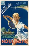 @@@ MAGNET - HOULGATE. 1950. TENNIS - Advertising