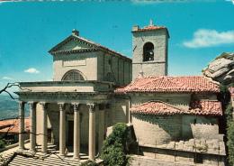 San Marino - Basilica Del Santo (timbres, Stamps, 1972, Fleurs, Flowers) - Saint-Marin