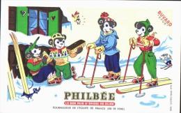 BUVARD  - Excellent Etat - Le Bon Pain D´épices Philbée - Gingerbread