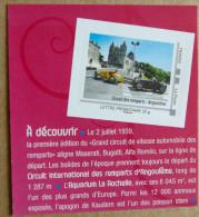 LFV2 Poitou-Charentes : Circuit Des Remparts - Angoulême (autocollant / Autoadhésif) - Adhésifs (autocollants)