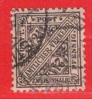 MiNr.237 O Altdeutschland  Württemberg Dienstmarken - Wurttemberg