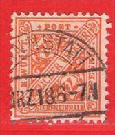MiNr.238 O Altdeutschland  Württemberg Dienstmarken - Wurttemberg