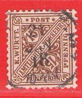MiNr.239 O Altdeutschland  Württemberg Dienstmarken - Wurttemberg