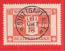 MiNr.124 O Altdeutschland  Württemberg Dienstmarken - Wurttemberg