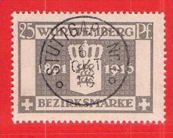 MiNr.128 O Altdeutschland  Württemberg Dienstmarken - Wurttemberg