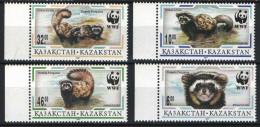 Kazakhstan 1997. WWF Animals Nice Set MNH (**) - W.W.F.