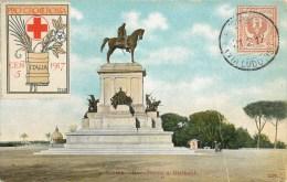 ROMA MONUMENTO A GARIBALDI ROME ITALIE ITALIA - Roma (Rome)