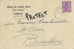 Liedekerke :  Amicale Des Anciens Elèves ' MULHOF '   1949    (  2 Scan )  Reclame - Liedekerke