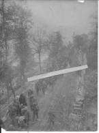 Front Italien Secteur Caporetto Colonne De Prisonniers Italiens Poste De Secours 1 Photo 1914-1918 Ww1 Wk1 - Guerra, Militari