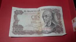 100 Pesetas 1970 / Cien Pesetas - [ 3] 1936-1975 : Regency Of Franco
