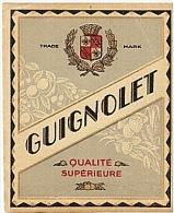 ETIQUETTE - APERITIF - GUIGNOLET -  . - Etiquettes