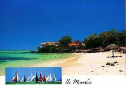 Divers       H16        2 Vues.La Cuvette , Grand Bay             ( Voir Timbre ) - Mauritius