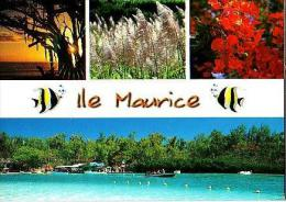 Divers       H17        4 Vues          ( Voir Timbre ) - Mauritius