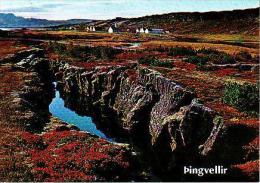 Pingvellir       H9         Autumn Lands Cape Of Thingvellic - Islande