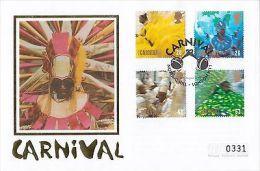 (82170) GB Mercury Silk FDC Carnival - Notting Hill 25 August 1998 - Sin Clasificación