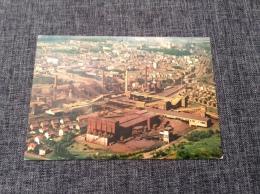 LUXEMBOURG  LUXEMBURG ESCH-SUR-ALZETTE USINES SIDÉRURGIQUES  ANSICHTSKARTE  CARTE À VUE AÉRIENNE - Commemoration Cards