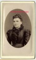 CDV Vers 1880-mode Fermme -joli Corsage-photographie D'art Léon Au Vigan - Photographs