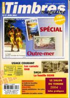 Timbres Magazine N.47 Juin 2004,Polynésie Française,Comores,carnet Avec Pub,traité Versailles,Marianne Briat Carnet,AOF, - Magazines