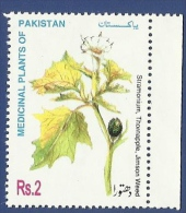 PAKISTAN 1998 MNH MEDICINAL PLANT OF PAKISTAN PLANTS