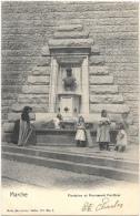 Marche NA7: Fontaine Et Monument Ponthier - Marche-en-Famenne