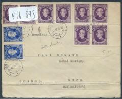 SLOVENIE - Env Pour Nice Avec Les N° 22 Et 25 En Dentelés Et Non Dentelés - Juil 1939 - Pas Courant - P16893 - Slovénie