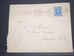 SLOVENIE - Env Pour Londres Avec N° 28 Seul Sur Lettre - Août 1939 - Rare - P16895 - Slovénie