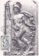 Autriche N°1106 - Carte Maximum - Cartas Máxima