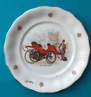"""Assiette Decorative """"LANCHESTER 1895"""" - Ceramics & Pottery"""