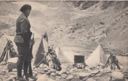 CPA - Bivouac En Montagne - Guerre 1939-45
