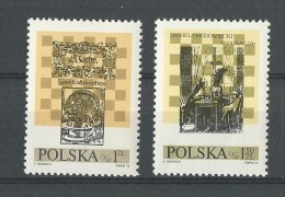 Pologne: 2162/ 2163 **  Echecs - Echecs