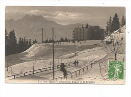 SUI.0148/ Leysin - Sanatorium Anglais Et La Patinoire - VD Vaud