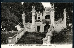Hanoi, Tonkin, Pagode Du Grand Bouddha, 12.5.1927 - Vietnam
