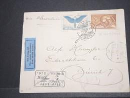SUISSE - Env Zurich Alexandrie Par Hydravion Avec N° PA 6 - Nov 1966 - A Bien étudier - P16896