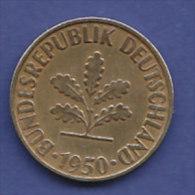 ALLEMAGNE  10 PFENNIG   ANNEE 1950 (LETTRE D  MUNICH)   LOT ALL2007 - 10 Pfennig