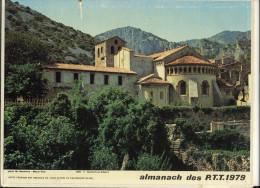 CALENDRIER  DES POSTES   1979 Panorama De St Guihem Du Desert (34) - Calendars