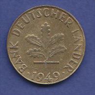 ALLEMAGNE  10 PFENNIG   ANNEE 1949 (LETTRE J  HAMBOURG)   LOT ALL2008 - 10 Pfennig