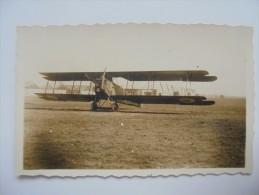 C P A  ANIMEE  ANNEES 1900  AVION BREGUET XVI  POUR BOMBARDEMENT 1ERE GUERRE MONDIALE - Romilly-sur-Seine