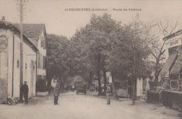 CPA:Alboussières.Route De Valence - Autres Communes