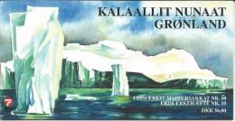 Greenland 2002 Sailing Ships.Booklet No 16.Mi - 381/84.MNH - Libretti