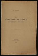( LOIRET Protestantisme) LA REVOCATION DE L'EDIT DE NANTES A BONDAROY ET A PITHIVIERS R. MOUFFLET 1946 - Centre - Val De Loire