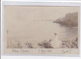 GRECE : Adieu Rhodes !... 9 Mars 1904 - Tres Bon Etat - Grèce