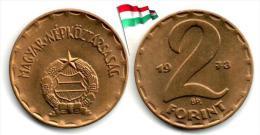 Hongrie - 2 Forint 1973 (UNC - 820,000 Ex.) - Hungary