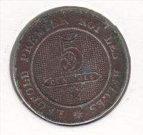 Leopold I 5 Centimes 1862 - 1831-1865: Léopold I