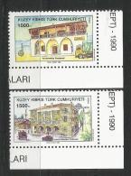 Türkisch Zypern 1990, 273/74, Europa: Postalische Einrichtungen. MNH ** - Europa-CEPT