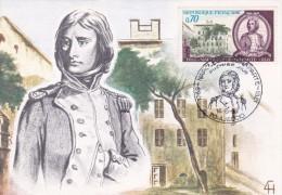 Napoléon France - Carte Maximum - Napoléon