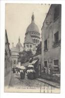 13928 - Paris Vieux Montmartre La Rue De La Barre - Arrondissement: 19
