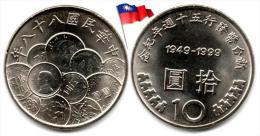 Taiwan - 10 Yuan 1999 (UNC) - Taiwan